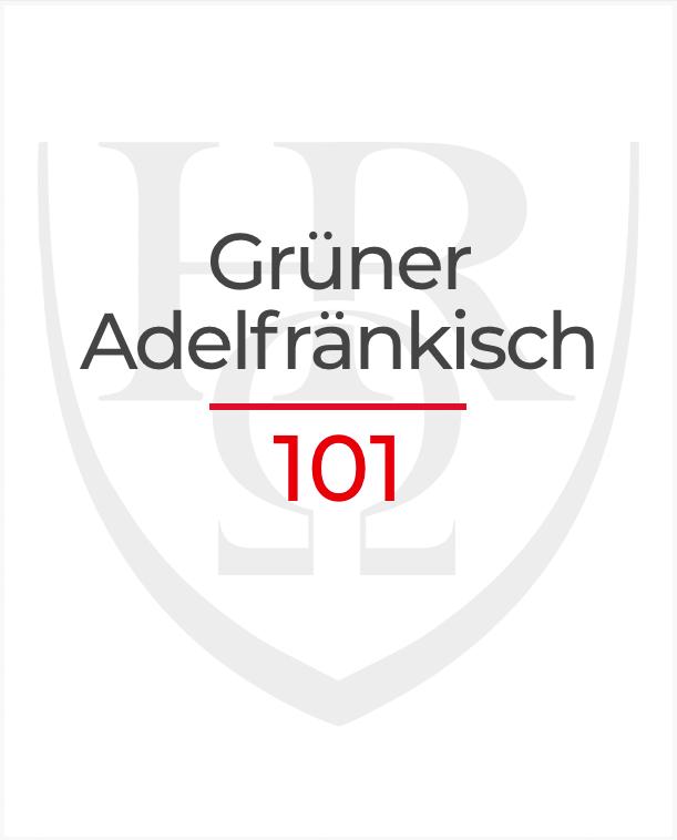 Grüner Adelfränkisch 101
